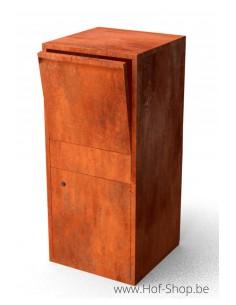 Giftu - pakketbus cortenstaal