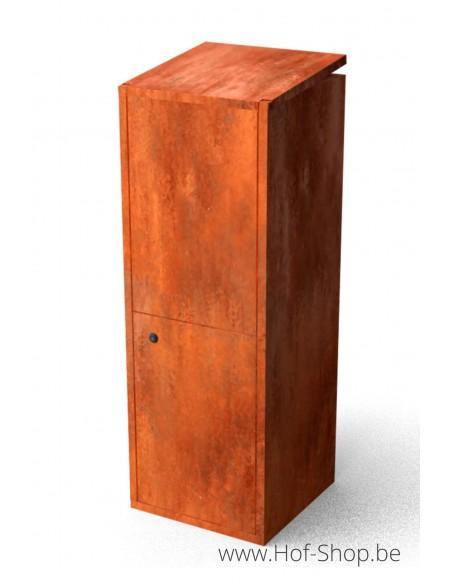 Collu - pakketbus cortenstaal