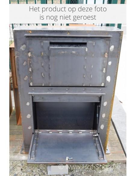 Paca - pakketbus cortenstaal