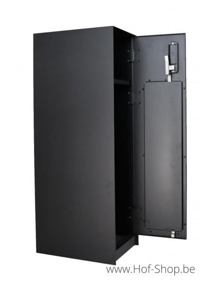 Nexus Medium RAL 9005 - pakketbus aluminium