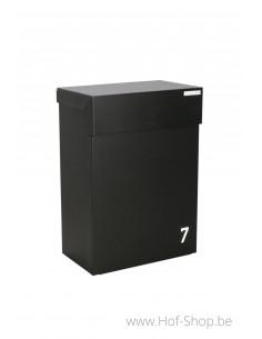 Shopperbox pakjes & brieven digitaal - pakketbus aluminium