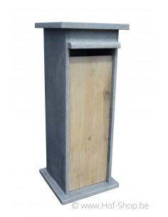 Model N houtlook - brievenbus arduin