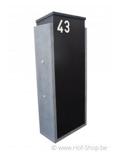 Torino Big Parcel Back Door zwart - pakketbus arduin