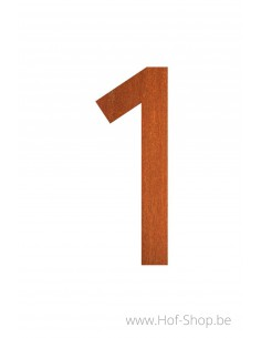 Nummer 1 - cortenstaal