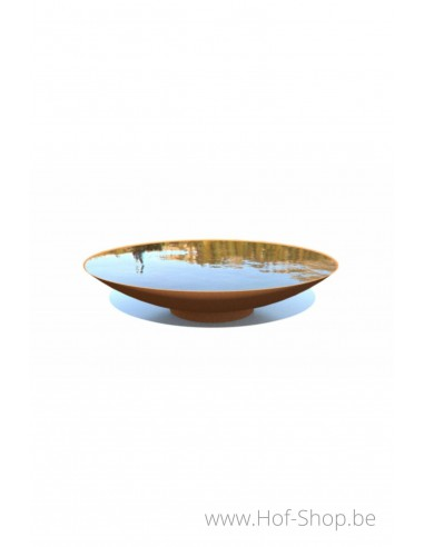 Waterschaal 150 x 33 cm - cortenstaal