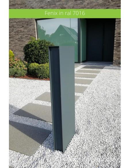 Fenix in ral 7016 - brievenbus aluminium Albo / eSafe