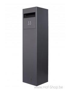Collibox 30120 gelakt - pakketbus aluminium