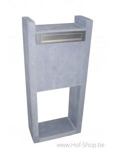 Model M zijde 5cm - brievenbus arduin