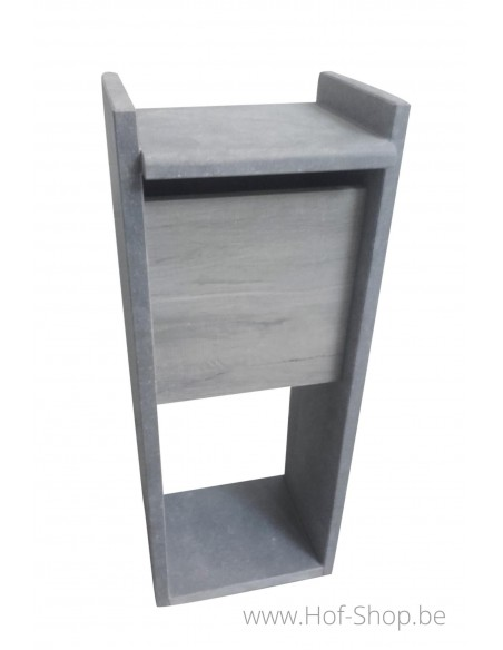 Promo 1 houtlook - brievenbus arduin