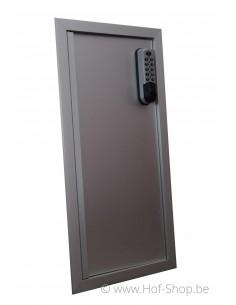 Alu deur Extra Large 30 x 60,5 cm - brievenbusdeur aluminium