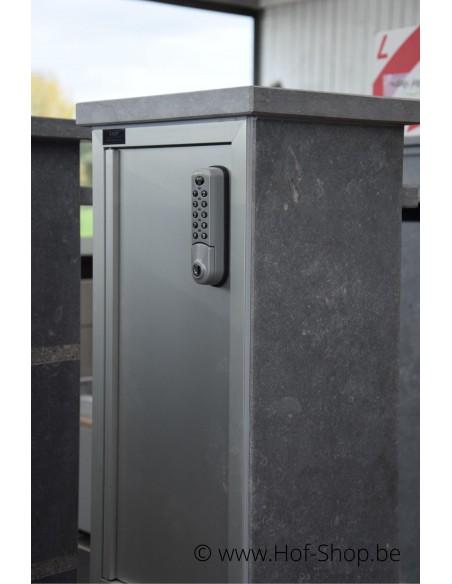 Brussel Parcel Digital Lock BDXL - pakketbus arduin