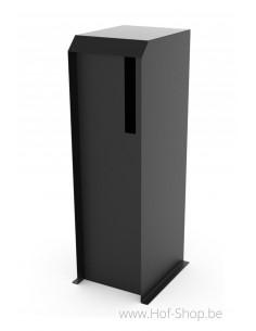 Kortu - brievenbus zwart