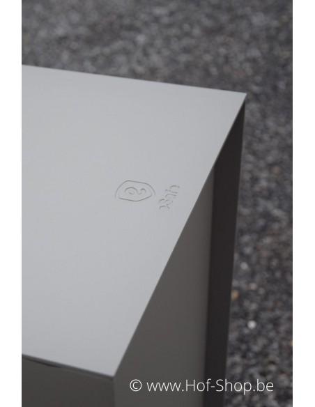 Dropbox Small RAL 7039 - pakketbus aluminium
