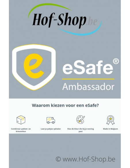 eSafe Dealer verdeler België Nederland digital lock