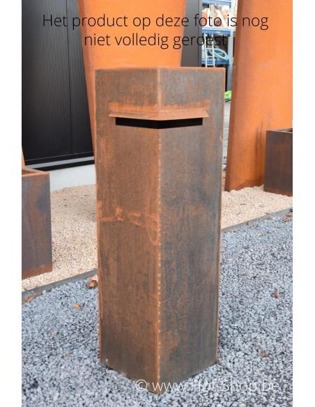 Ivar - brievenbus cortenstaal