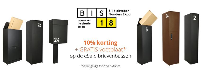 Actie eSafe brievenbus kopen Limburg